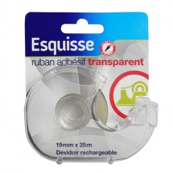 RUBAN ADHESIF TRANSPARENT