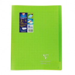 CAHIER 24 X 32 GRANDS CARREAUX 96 PAGES